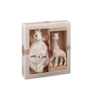 Žirafa Sophie poklon set s mazilicom