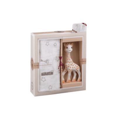 Žirafa Sophie poklon set s tetra pelenom