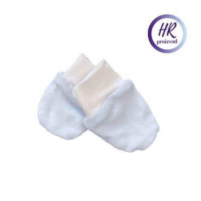 Baby rukavice – plave