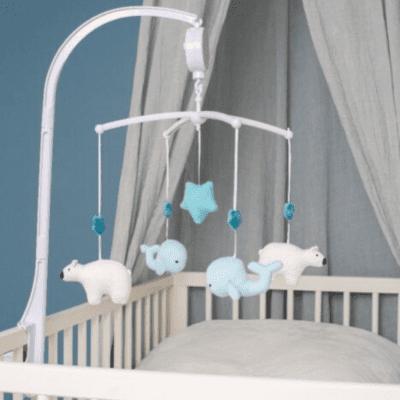 Glazbeni vrtuljak – plavi kit