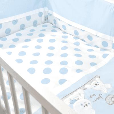 Posteljina Točka – plava