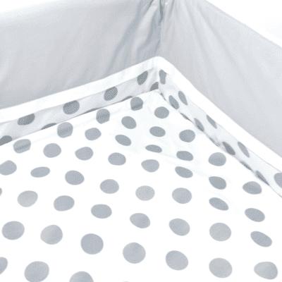 Posteljina Točka – siva