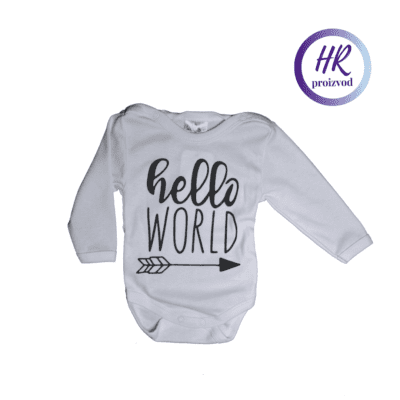 Body Hello World – dugi rukav