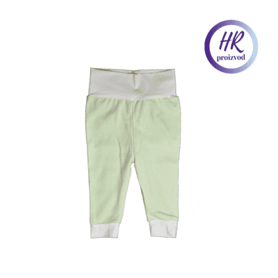 Baby hlače – zelena