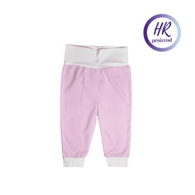 Baby hlače – roza