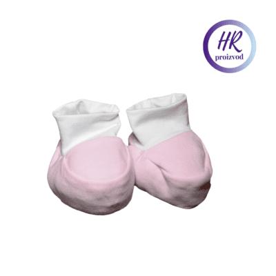 Baby papučice – roze