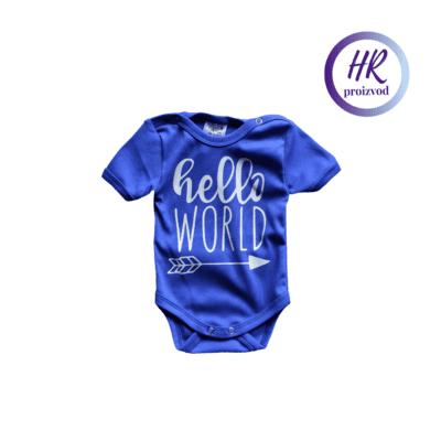 Body Hello World – plavi
