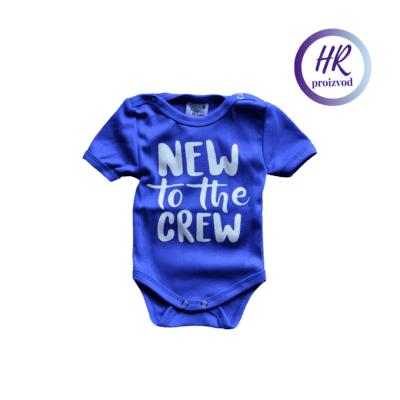 Body New To The Crew – plavi
