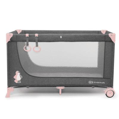 Putni krevetić Kinderkraft JOY, boja pink