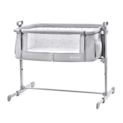 Krevetić Kinderkraft NESTE 2u1 – svijetlo sivi