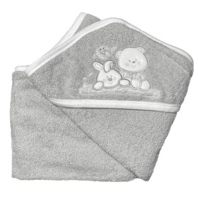 Ručnik medo – sivi