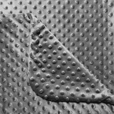Minky dekica – Tamno siva