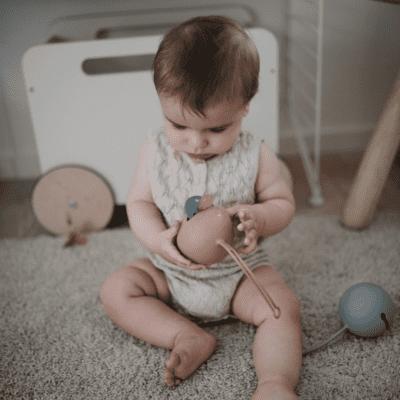 Mushie spremnik za dude – Stone