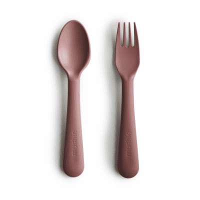 Mushie žlica&vilica – Woodchuck