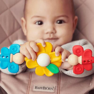 BabyBjörn igračka za ležaljku – Flying Friends