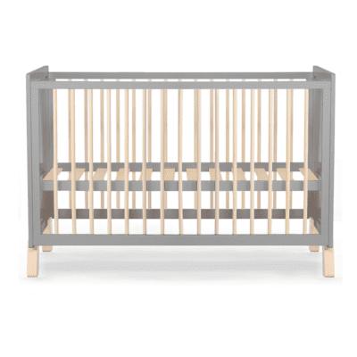 Kinderkraft krevetić NICO 120×60 cm – sivi