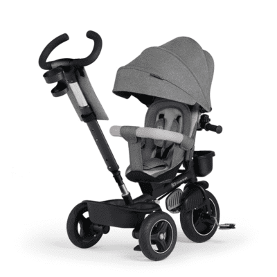 Dječji tricikl Kinderkraft SPINSTEP – platinum