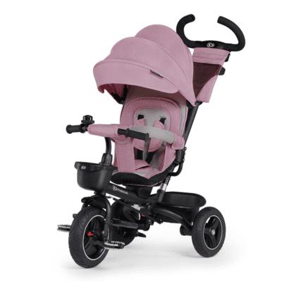 Dječji tricikl Kinderkraft SPINSTEP – rozi