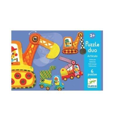 Puzzle duo – vozila