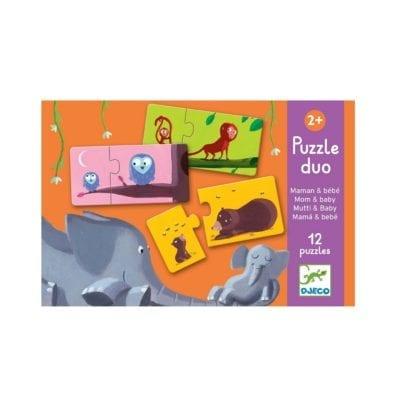 Puzzle duo – Mama i beba