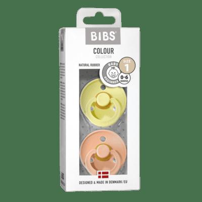 BIBS 2 pack – Sunshine/Peach Sunset