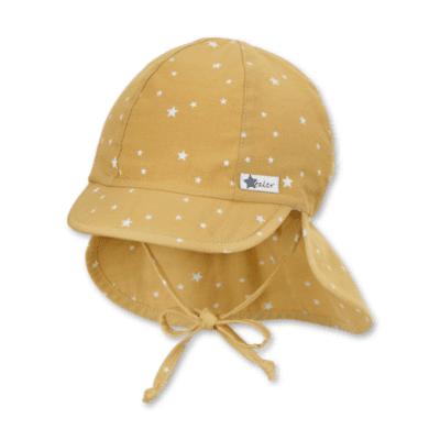 Sterntaler kapa s UV zaštitom zvjezdice žuta