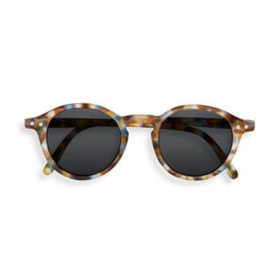 IZIPIZI NAOČALE Junior Sun #D Blue Tortoise Soft Grey Lenses