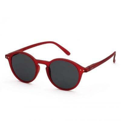 IZIPIZI NAOČALE Sun #D Red Crystal Soft Grey Lenses