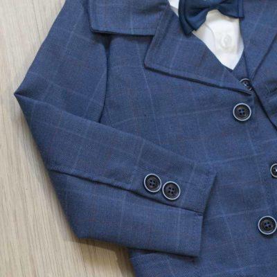 Krsno odijelo – tamno plavo